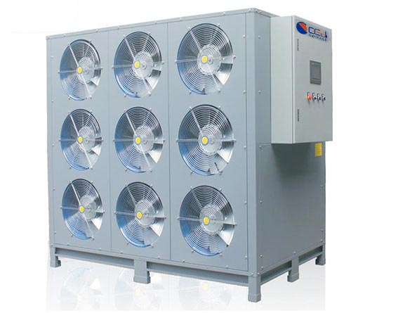 九风机闭环式热泵烘干除湿一体机【隧道型】