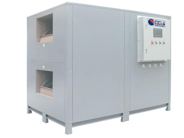 侧出风-隧道式闭环热泵烘干机